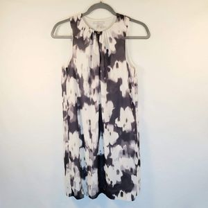 H&M Abstract Paint Blur Tank Dress